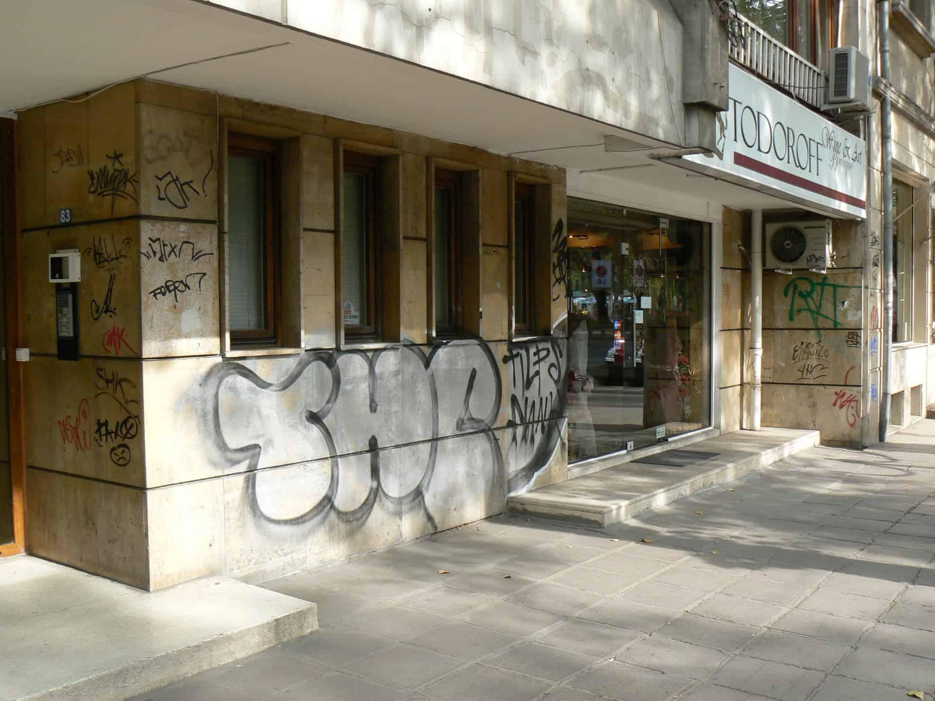 Graffitibeseitigung und Graffitischutz 1