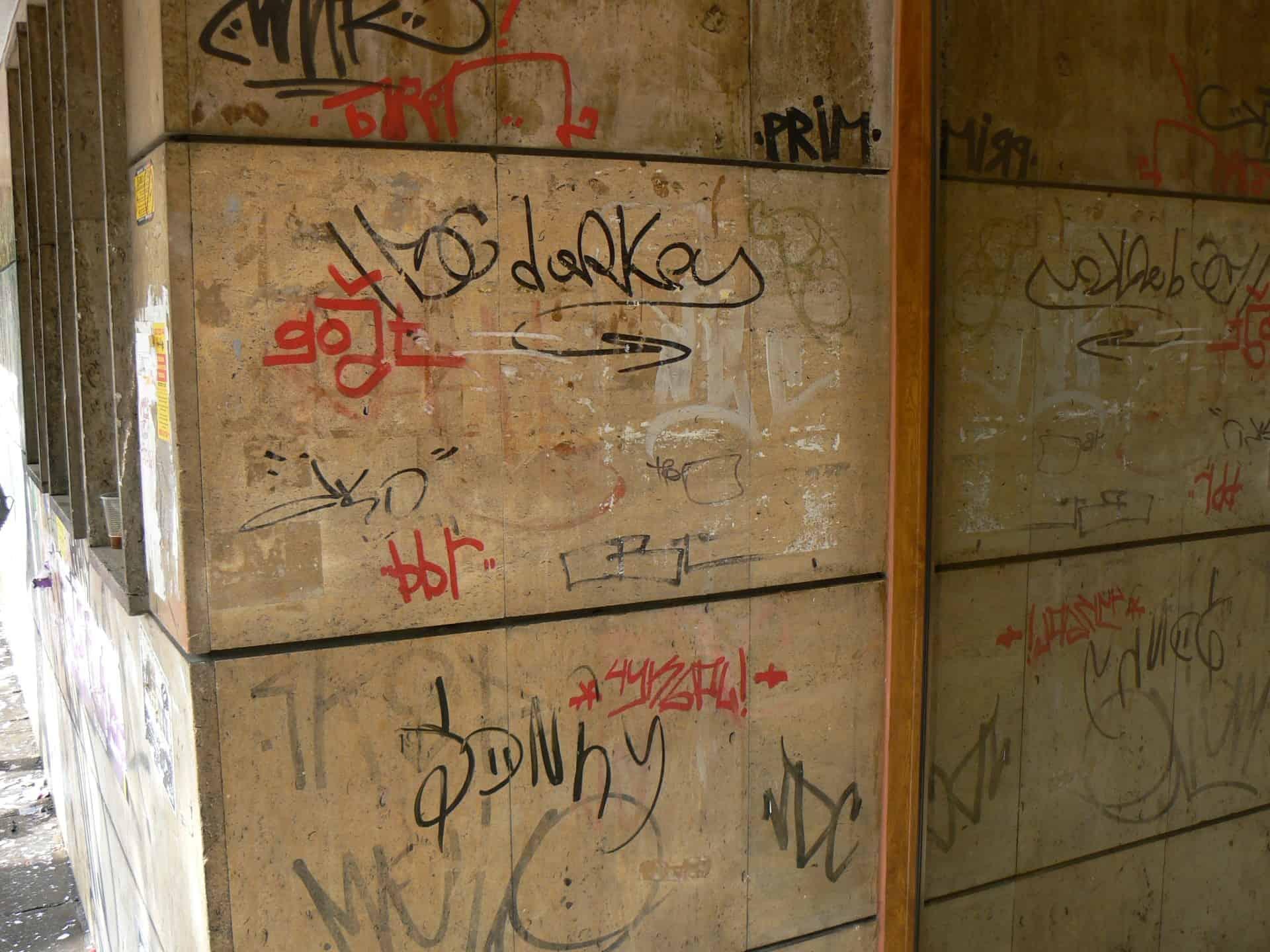 Graffitibeseitigung und Graffitischutz 3