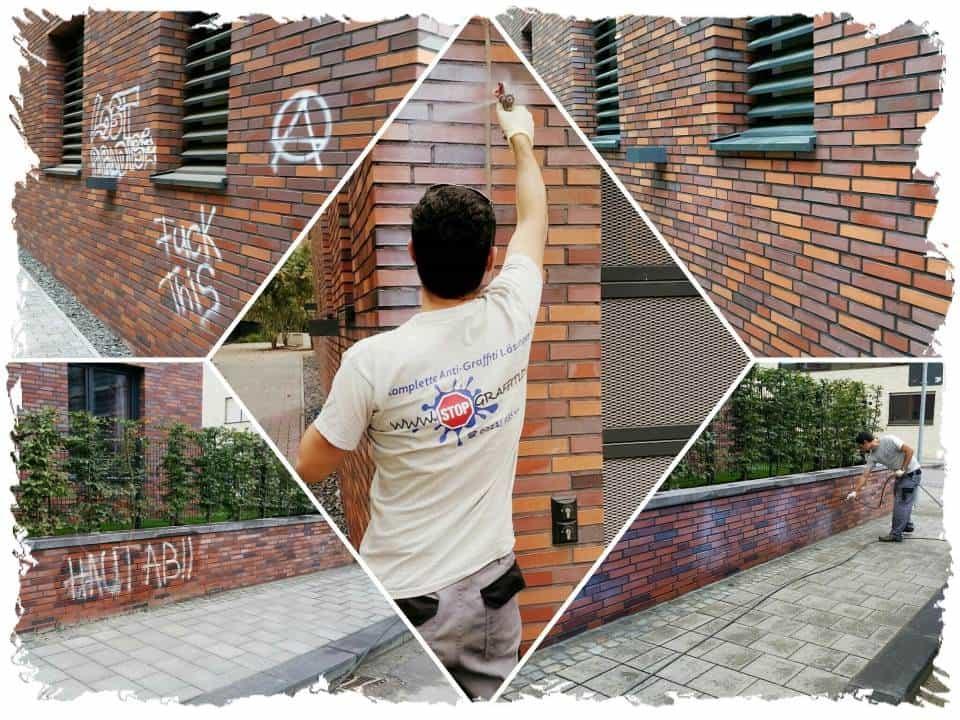 Graffitischutz Klinker