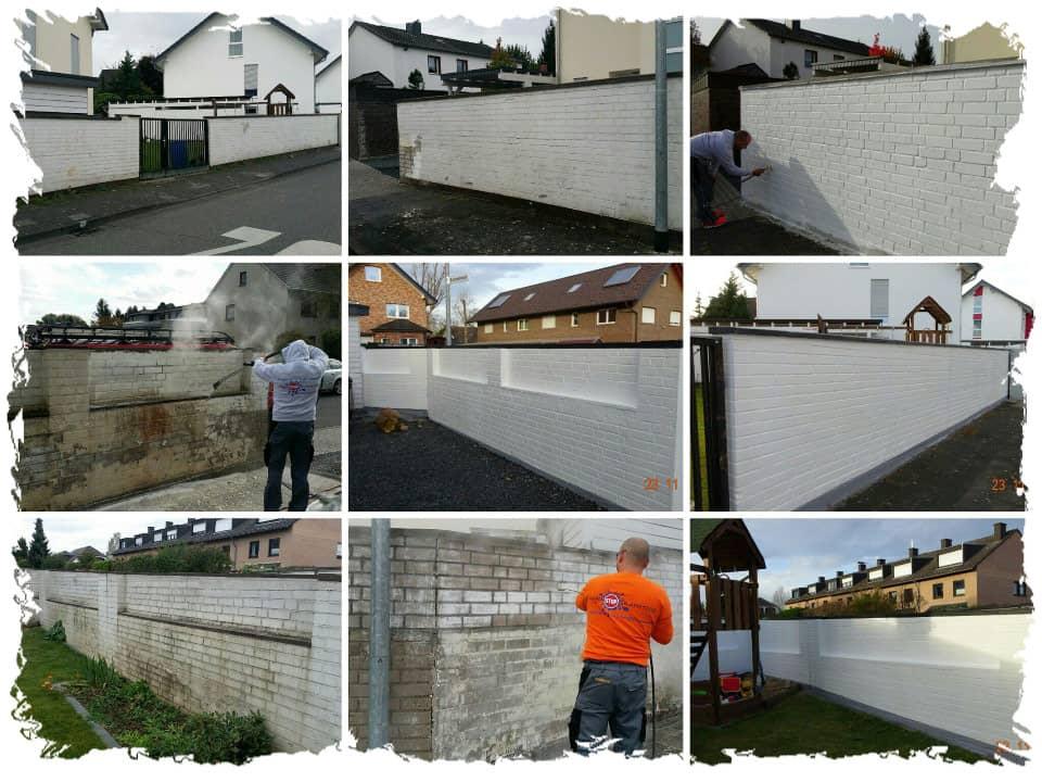 Mauereinigung-mit-Graffitischutz