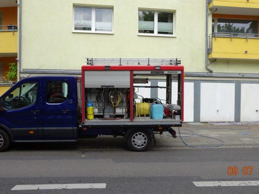 Graffitientfernung und Antigraffiti Köln