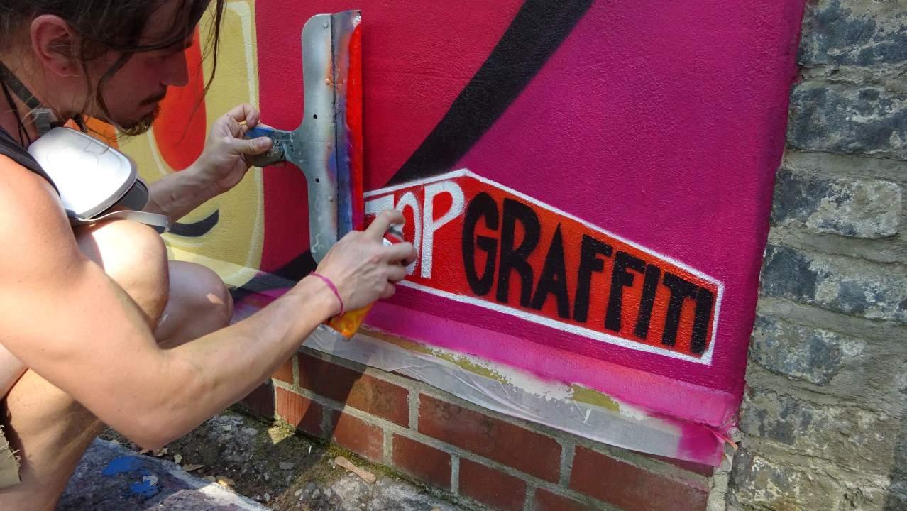 Topgraffiti Bombye