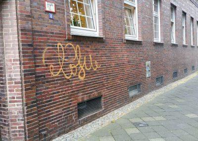Graffitientfernung und Antigraffiti Fassadenschutz in Dortmund