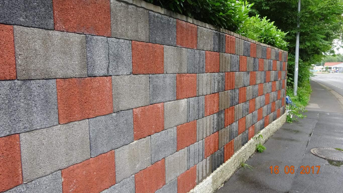 Graffitientfernung Graffitischuzt Mauer Bonn 4