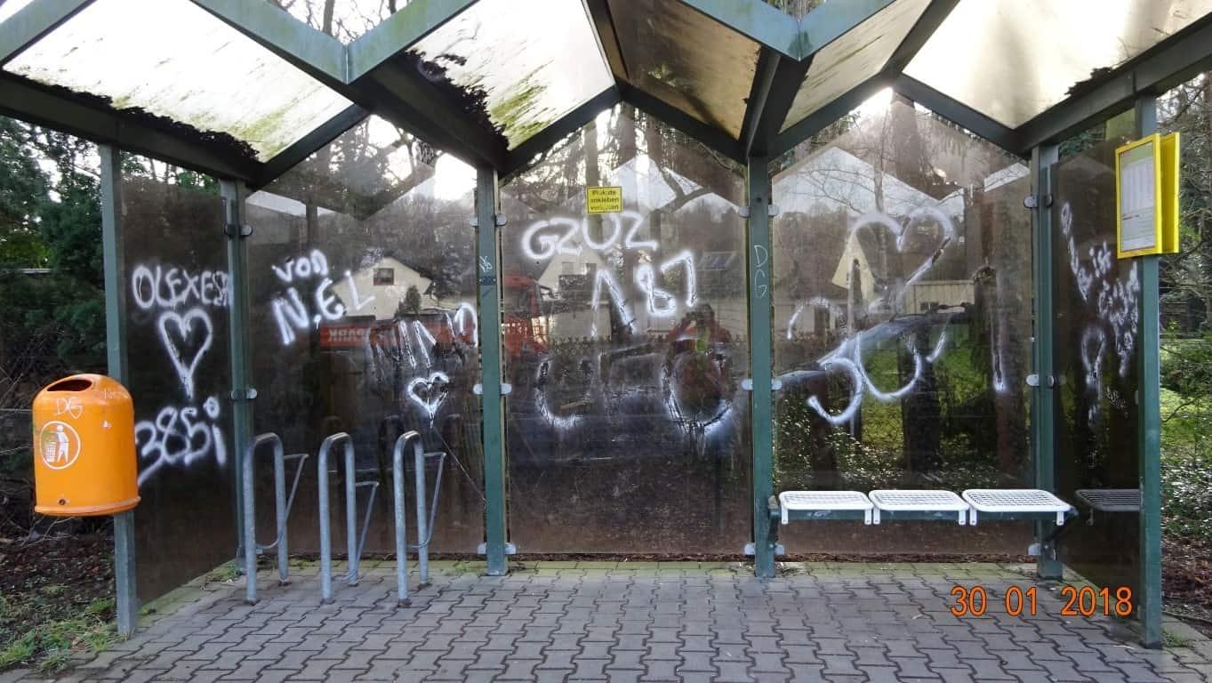Graffitientfernung Wartung NRW 1