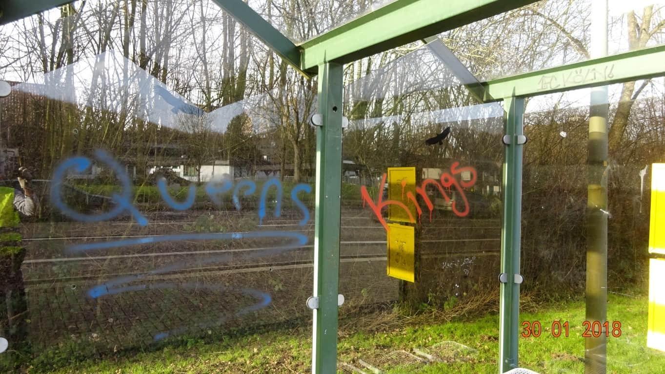 Graffitientfernung Wartung NRW 3