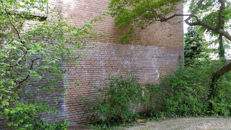 Graffitireinigung und Graffitischuzt Klinker und Garagentore 2