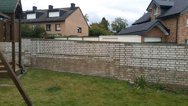 Klinkermauer abbeizen und Graffitischutz Siegburg 18