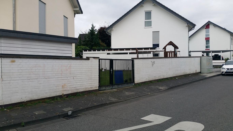Klinkermauer abbeizen und Graffitischutz Siegburg 2