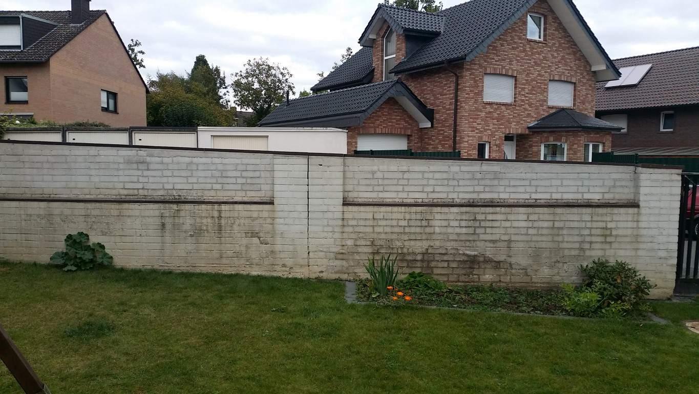 Klinkermauer abbeizen und Graffitischutz Siegburg 4