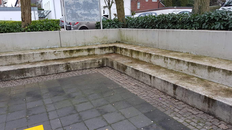 Am Heilsbrunnen Pflasterreinigung und Hydrophobierung (2)