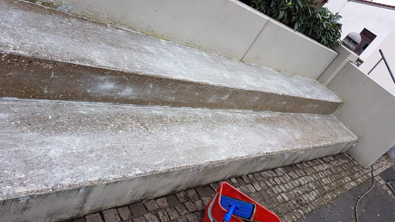 Am Heilsbrunnen Pflasterreinigung und Hydrophobierung (4)