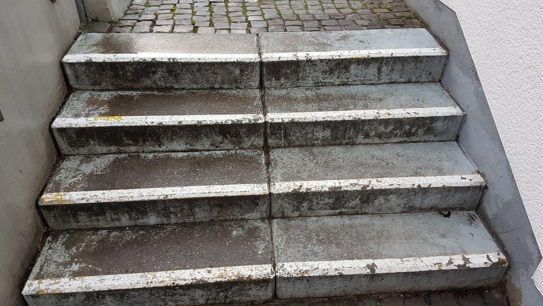 Am Heilsbrunnen Pflasterreinigung und Hydrophobierung (7)