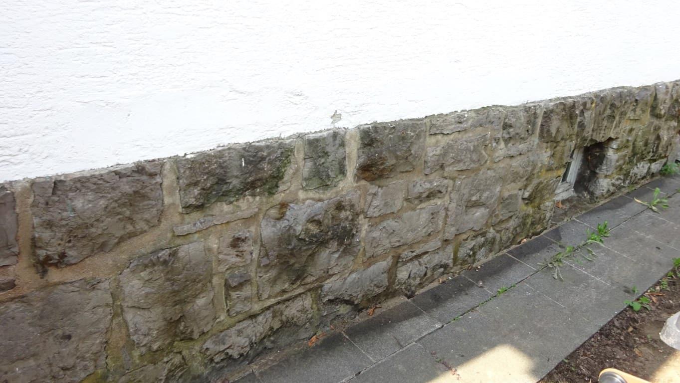 Fassadenreinigung mit Teleskoplanze und Langzeitschutz Imprägnierung in Köln (10)