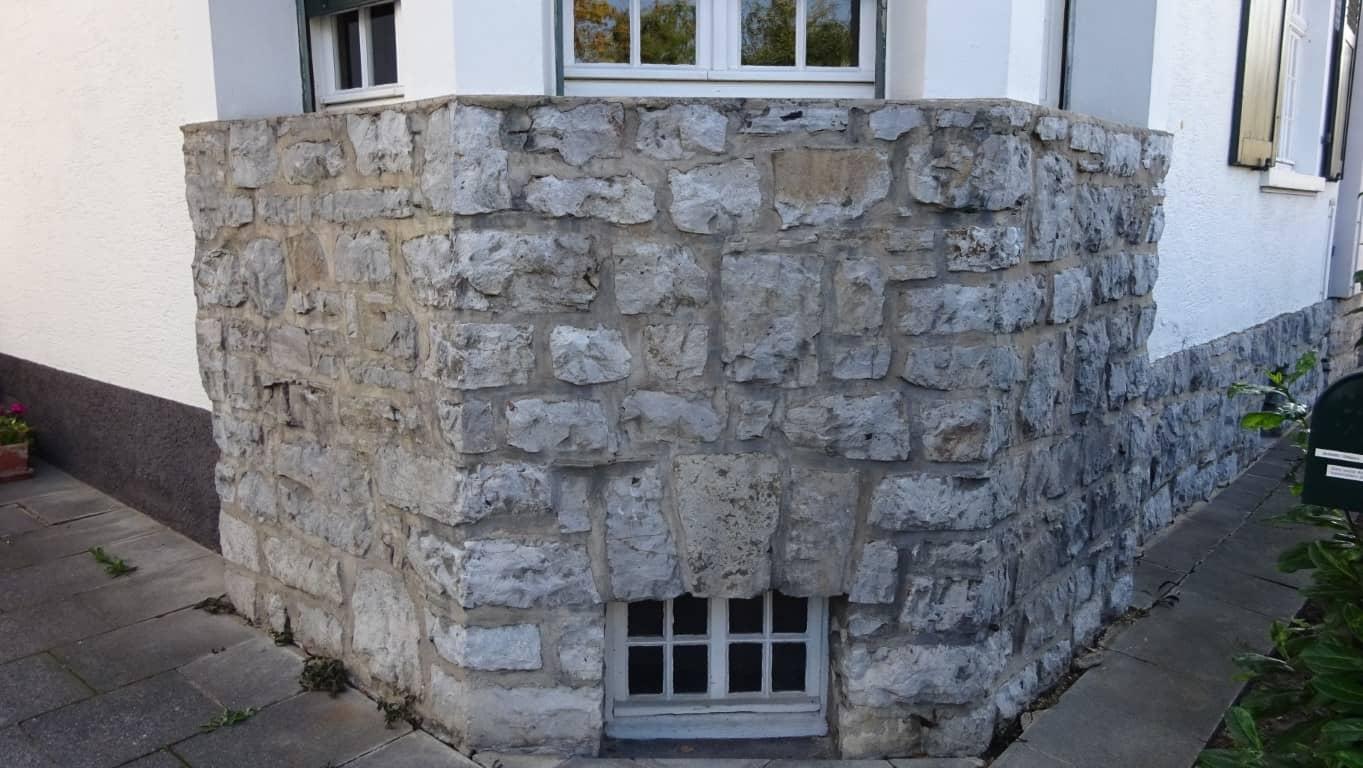 Fassadenreinigung mit Teleskoplanze und Langzeitschutz Imprägnierung in Köln (12)