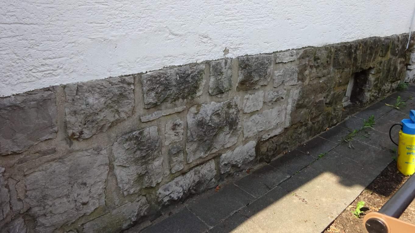 Fassadenreinigung mit Teleskoplanze und Langzeitschutz Imprägnierung in Köln (8)