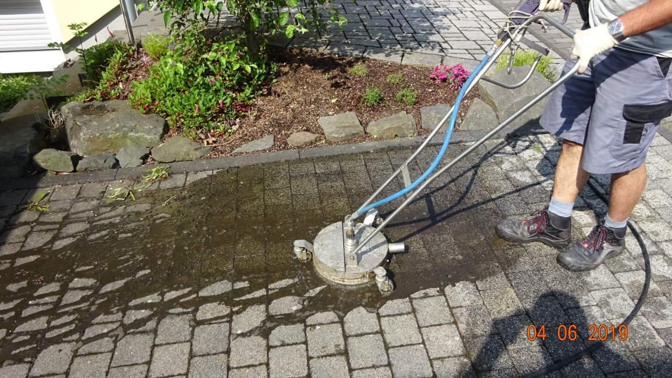 Pflasterreinigung und Wasserabweisende Nano-Imprägnierung Köln (10)