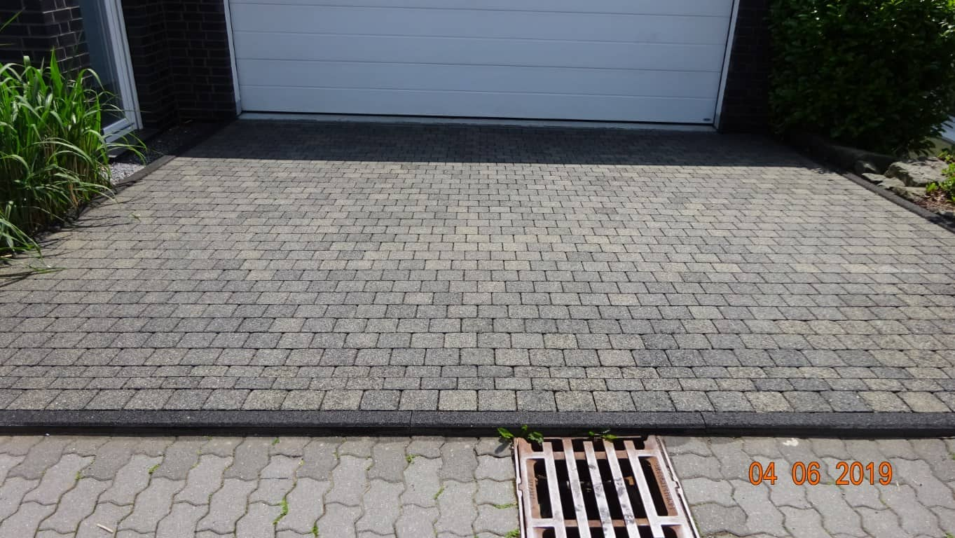 Pflasterreinigung und Wasserabweisende Nano-Imprägnierung Köln (13)