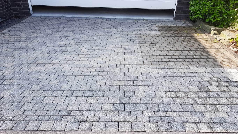 Pflasterreinigung und Wasserabweisende Nano-Imprägnierung Köln (7)