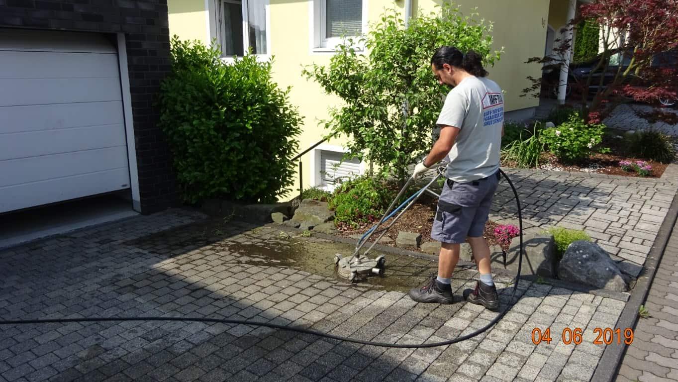 Pflasterreinigung und Wasserabweisende Nano-Imprägnierung Köln (9)
