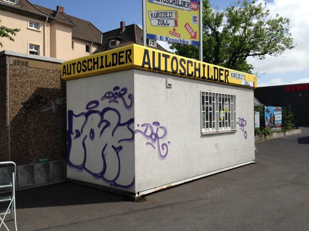 Topgraffiti Auftragsmalerei und Schutz in Lünen (1)