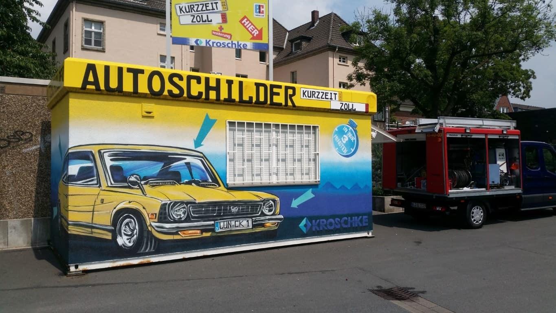 Topgraffiti Auftragsmalerei und Schutz in Lünen (2)