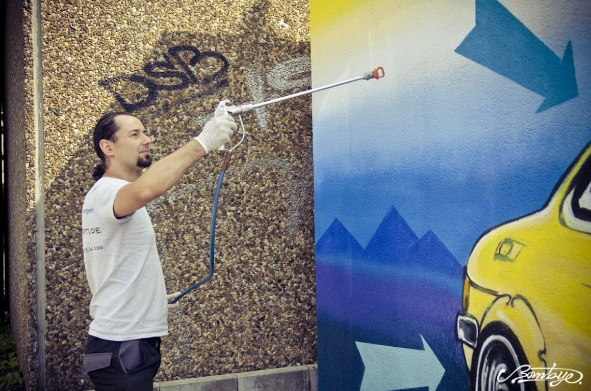 Topgraffiti Auftragsmalerei und Schutz in Lünen (5)