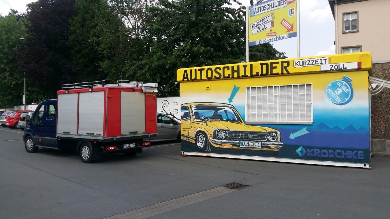 Topgraffiti Auftragsmalerei und Schutz in Lünen