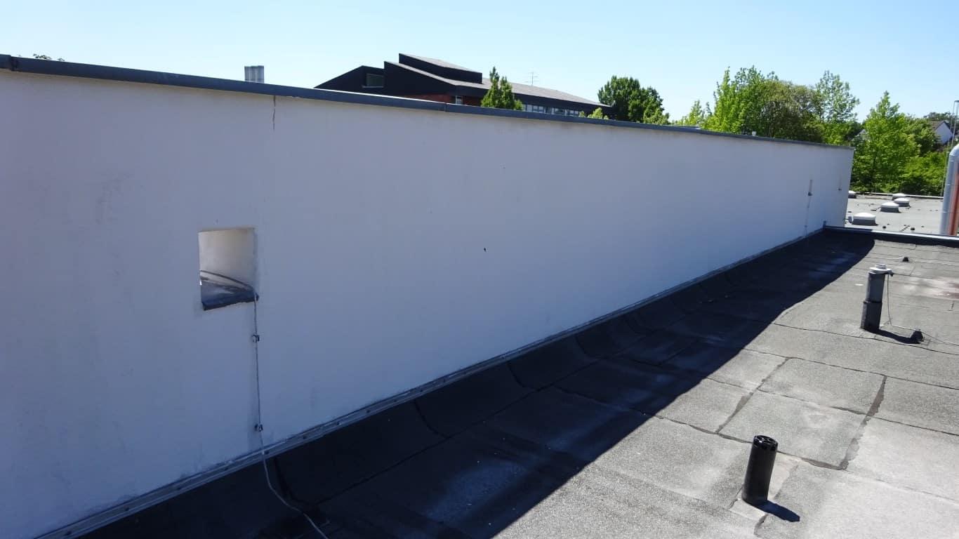 Fassadenreinigung und Langzeitschutz Kita Bergisch Gladbach