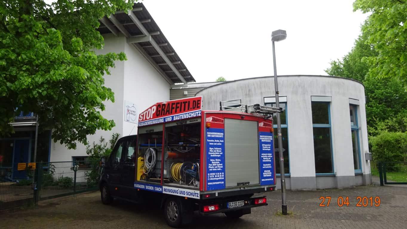 Stopgraffiti Fassadenreinigung und Langzeitschutz Kita Bergisch Gladbach (17)
