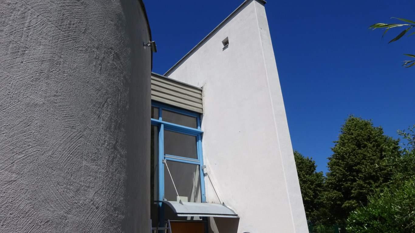 Stopgraffiti Fassadenreinigung und Langzeitschutz Kita Bergisch Gladbach (2)