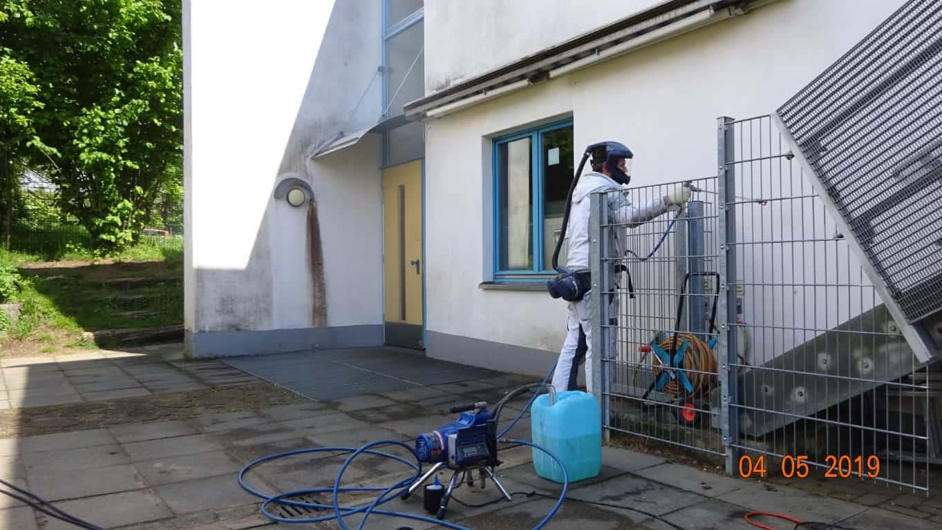 Stopgraffiti Fassadenreinigung und Langzeitschutz Kita Bergisch Gladbach (29)