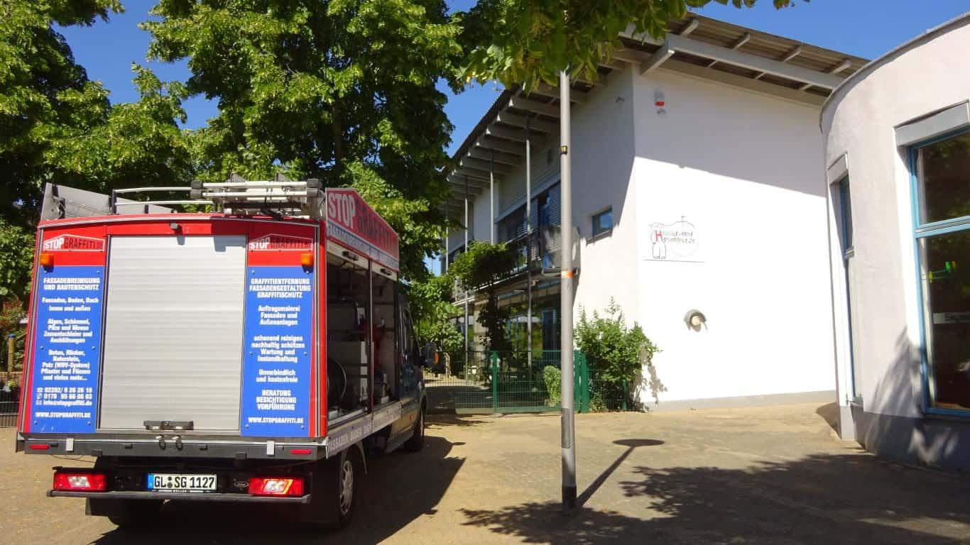 Stopgraffiti Fassadenreinigung und Langzeitschutz Kita Bergisch Gladbach (35)