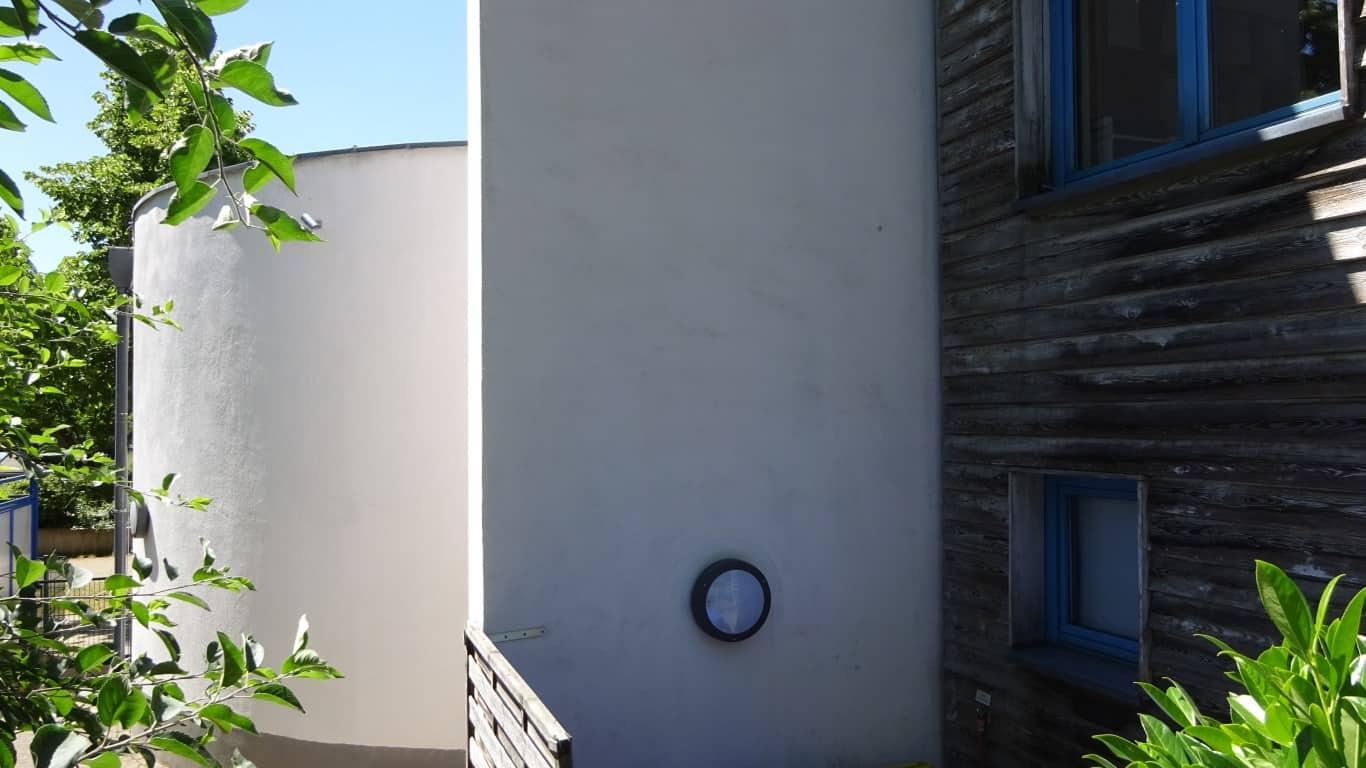 Stopgraffiti Fassadenreinigung und Langzeitschutz Kita Bergisch Gladbach (4)