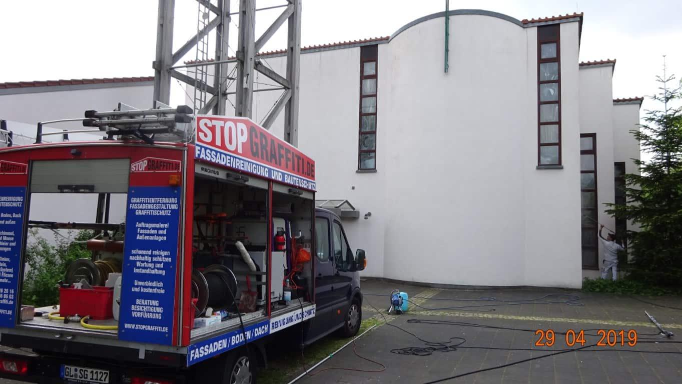 Stopgraffiti Fassadenreinigung und Schutz Bergisch Gladbach (10)