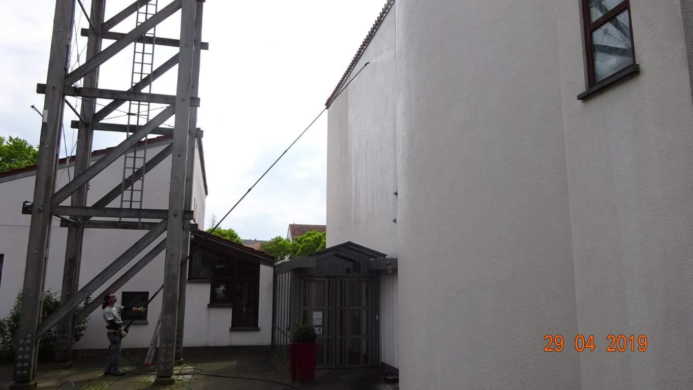 Stopgraffiti Fassadenreinigung und Schutz Bergisch Gladbach (12)