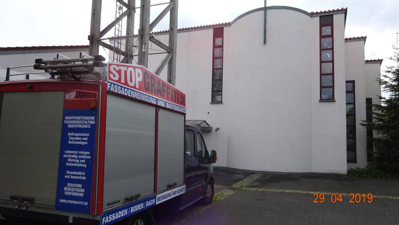 Stopgraffiti Fassadenreinigung und Schutz Bergisch Gladbach (13)