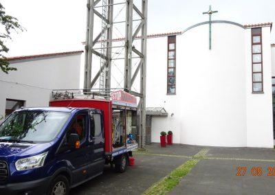 Fassadenreinigung – Kirche in Bergisch Gladbach