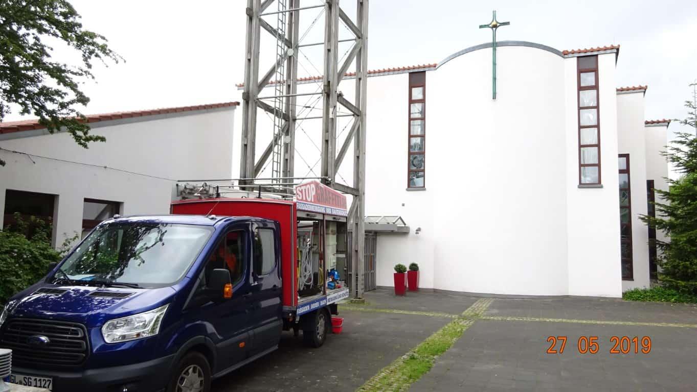 Fassadenreinigung Langzeitschutz Bergisch Gladbach