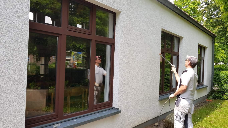 Stopgraffiti Fassadenreinigung und Schutz Bergisch Gladbach (7)